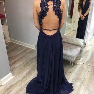 Faviana Designer Prom Dress